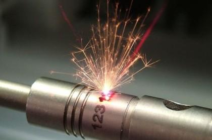 Marcação e codificação laser