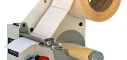 Dispensadores de etiquetas semi-automáticos e manuais