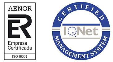 Logótipos ISO 9001:2015